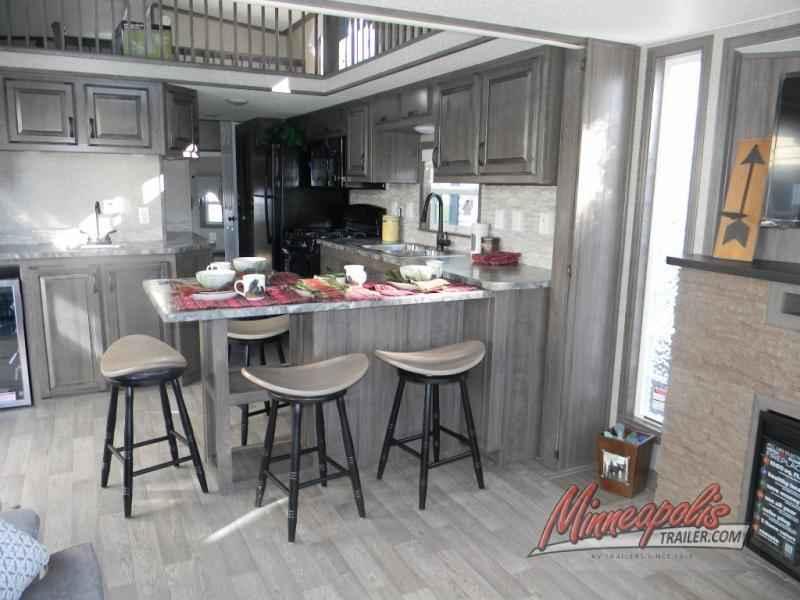 Kropf Island Series Front Kitchen