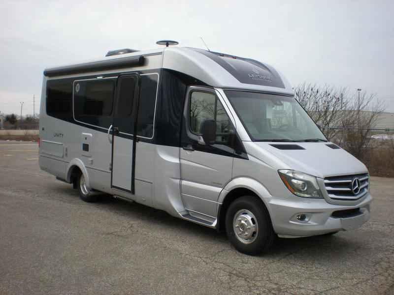 2018 New Leisure Travel Vans Unity U24FX Class B In Michigan MI