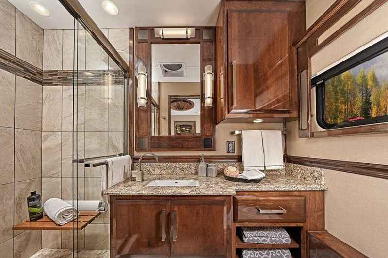 2018 New Renegade Motorcoaches Ikon Cascadia 34RX Class C in