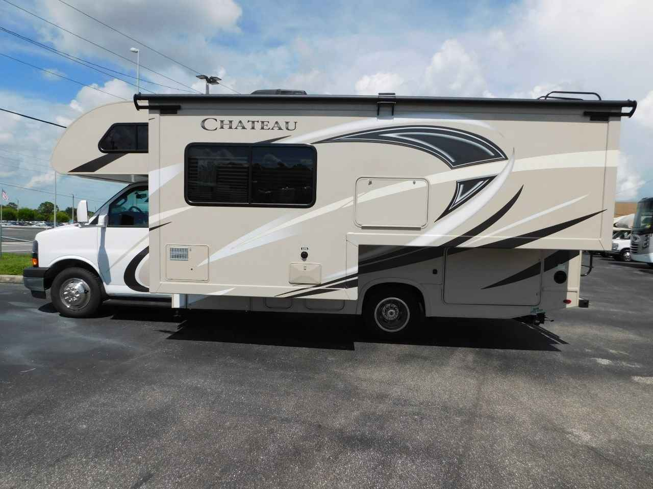 2018 new thor motor coach chateau 24f full wall slide for Class c motor coach