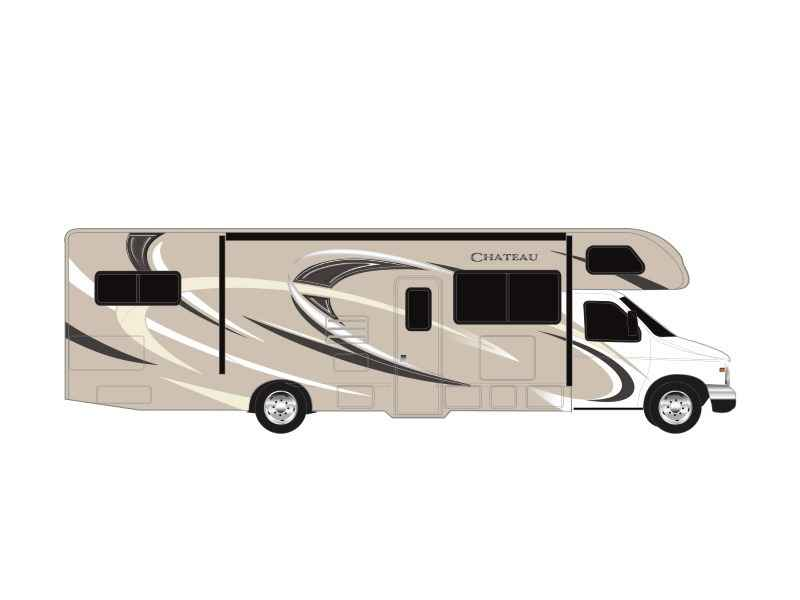 2018 New Thor Motor Coach Chateau 30d Ford Class C In