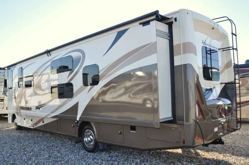 2018 New Thor Motor Coach Hurricane 34j Bunk Model Rv For