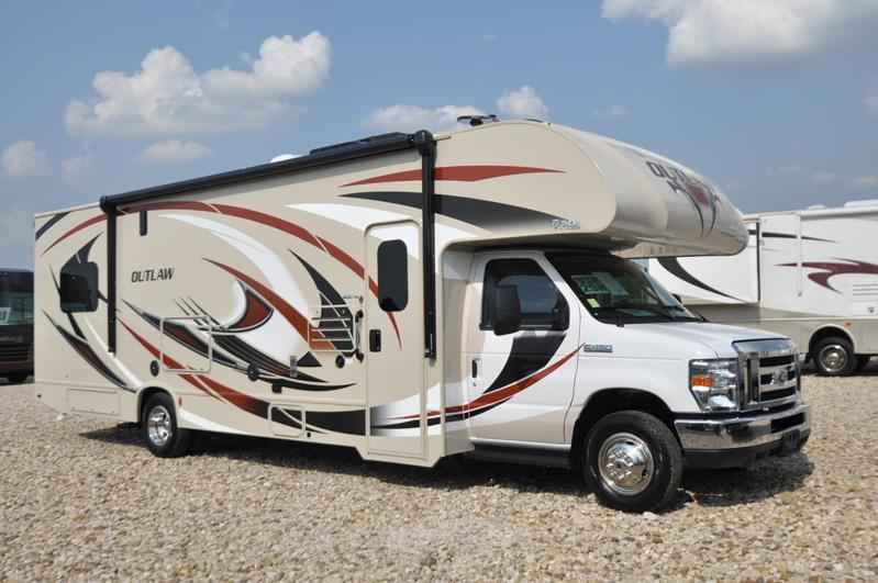 Toy Haulers For Sale Texas >> 2018 New Thor Motor Coach Outlaw 29H Class C Toy Hauler ...