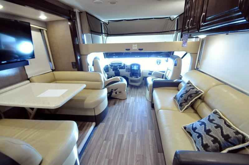 2018 New Thor Motor Coach Palazzo 33 3 Bunk Model Rv For
