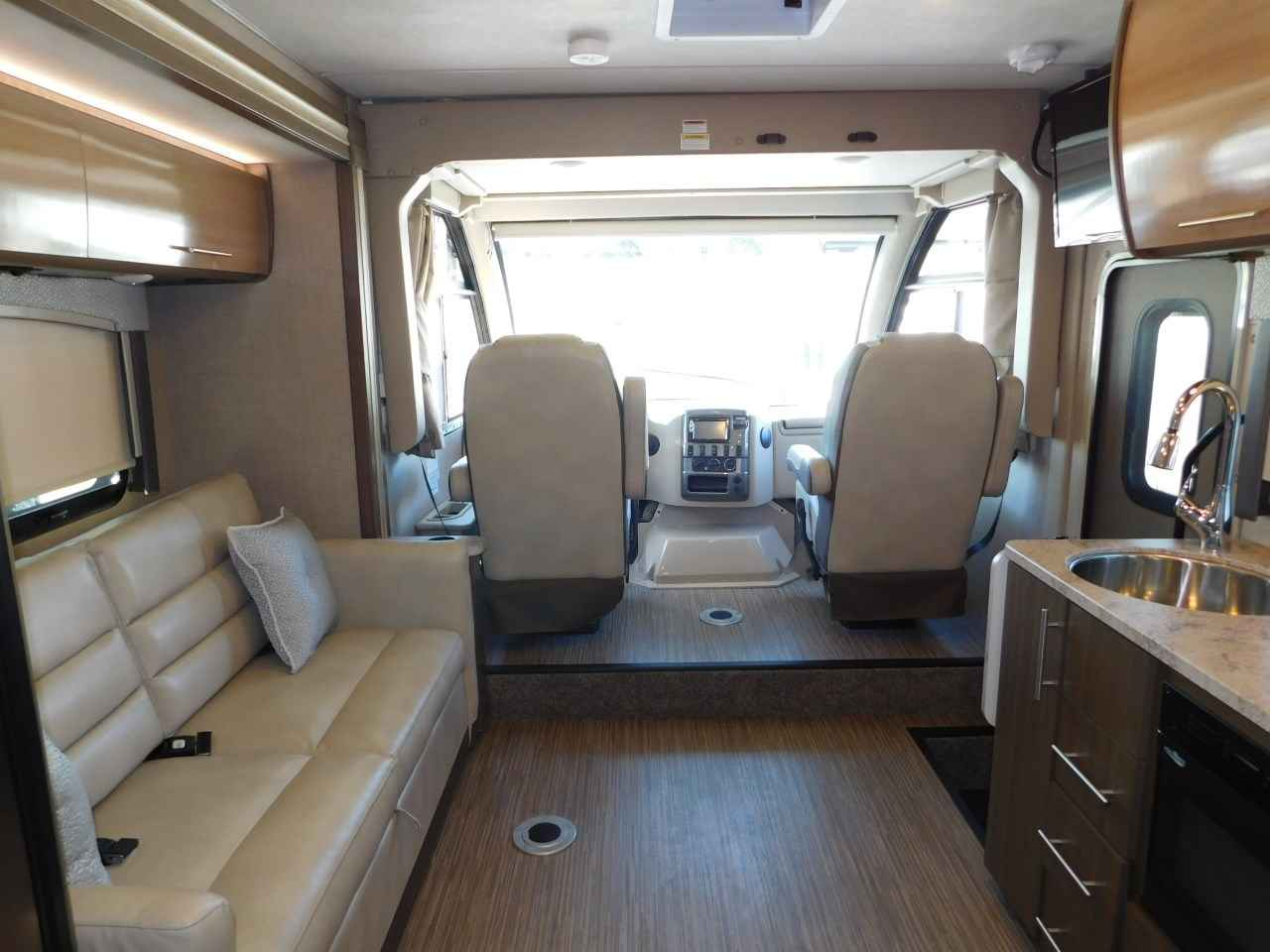 2018 new thor motor coach vegas 25 5 slide out twin king for Motor coaches with 2 bedrooms