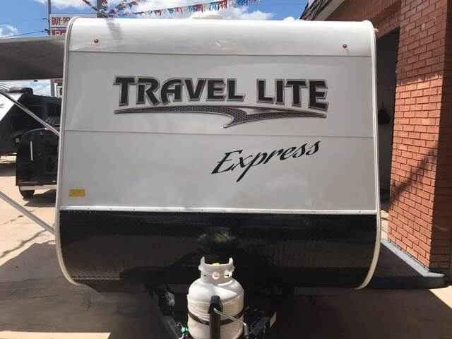 2018 New Travel Lite Express Travel Trailer in Texas TX