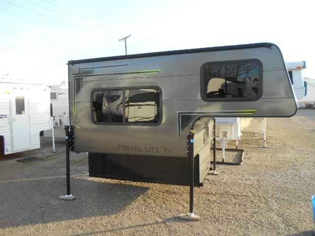 2018 New Travel Lite Truck Campers Super Lite 700 - Sofa
