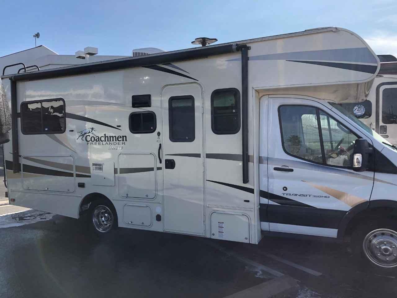 2018 Used Coachmen Freelander 20cbt Class C In California Ca
