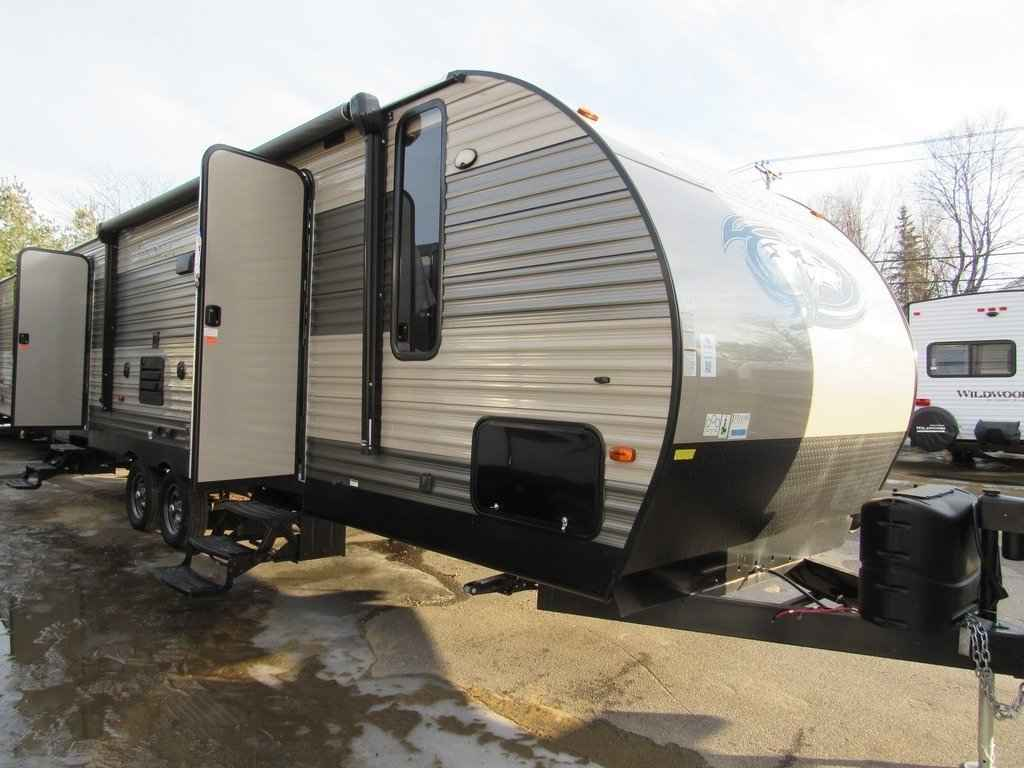 2018 Used Forest River CHEROKEE 274DBH Travel Trailer in ...