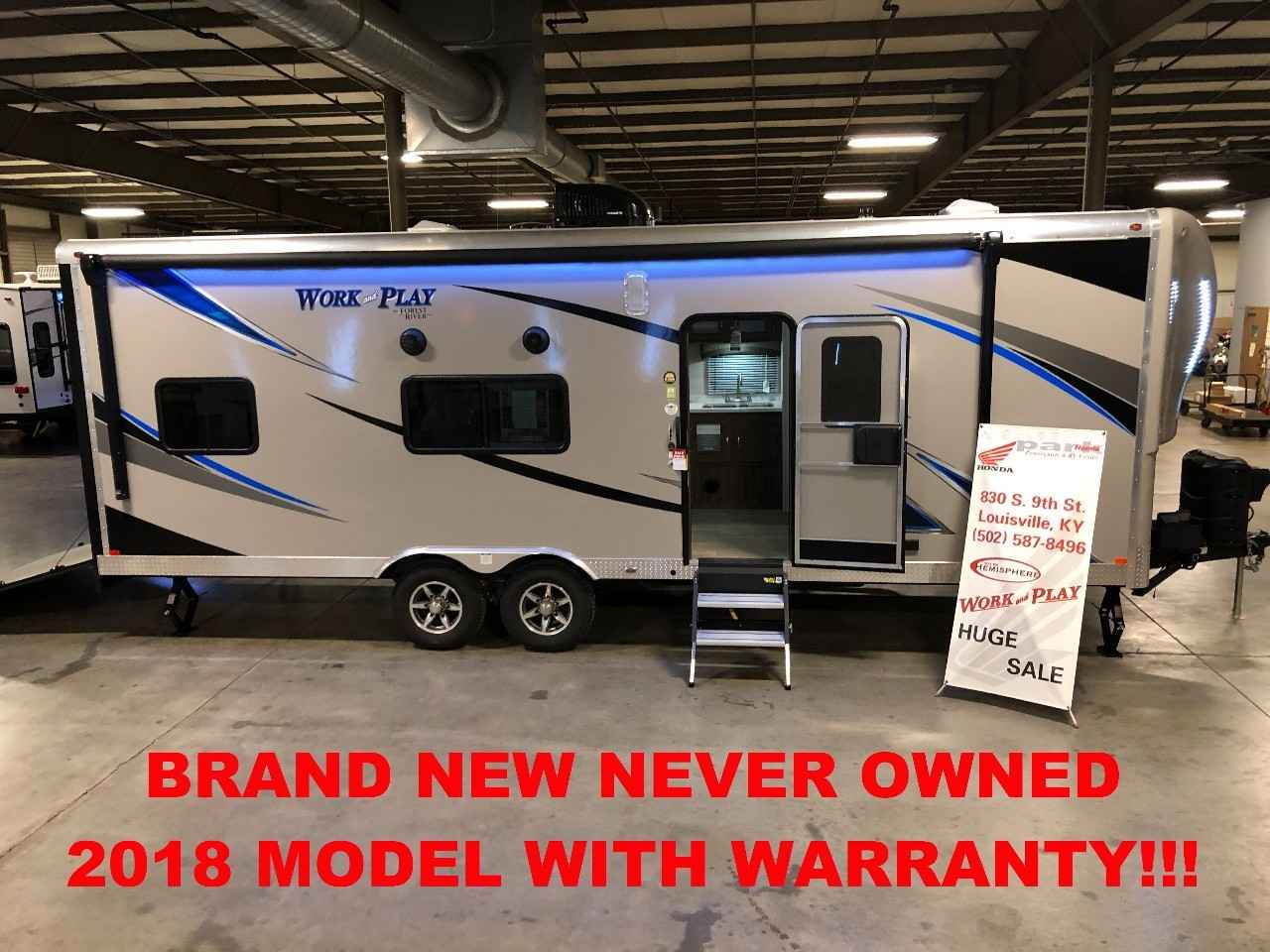 Work And Play Toy Hauler >> 2018 Used Forest River Work And Play 25cb Toy Hauler In