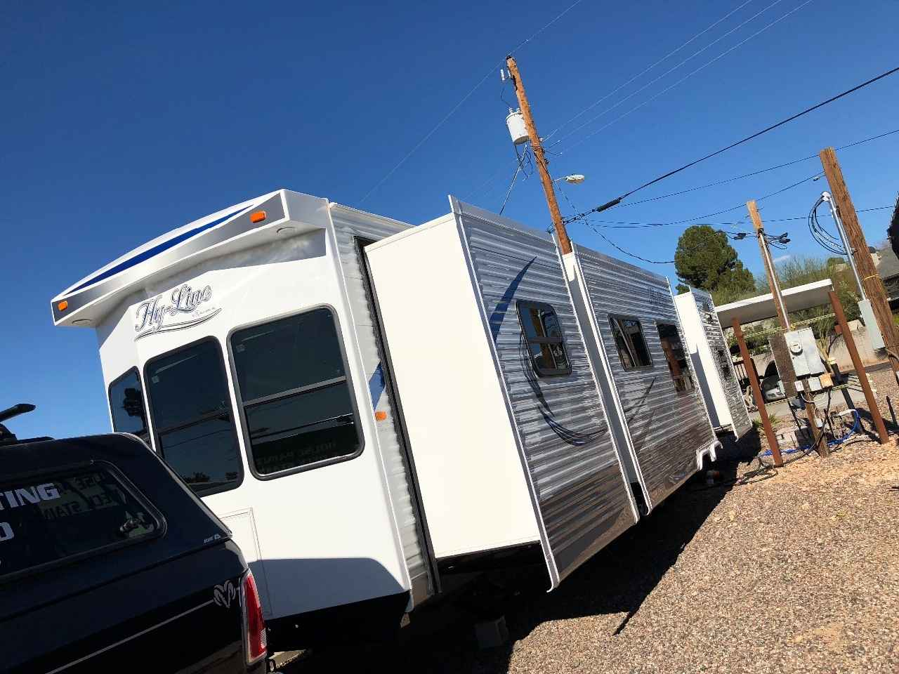 2018 used hyline hyline 395 2 bedroom travel trailer in
