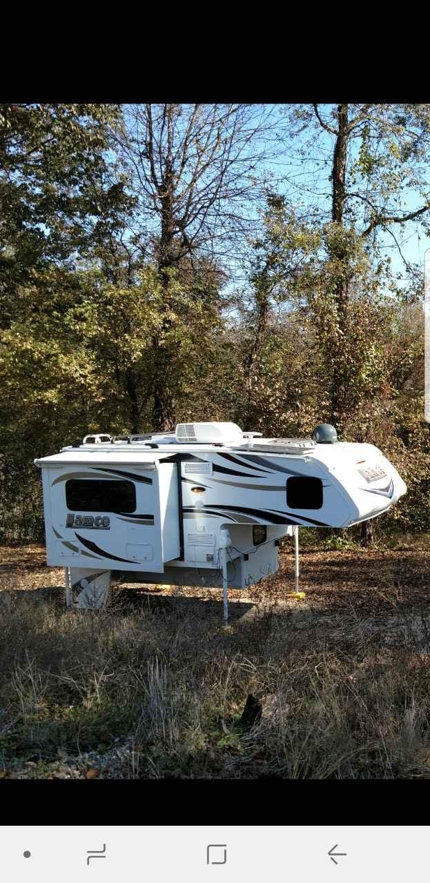 2018 Used Lance Short Bed 855s Truck Camper In Arkansas Ar