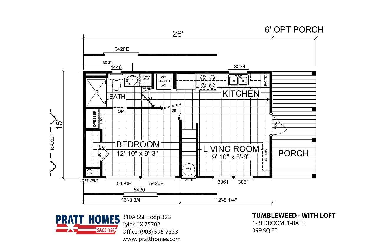 2019 New Pratt Homes Tumbleweed Park Model In Texas Tx