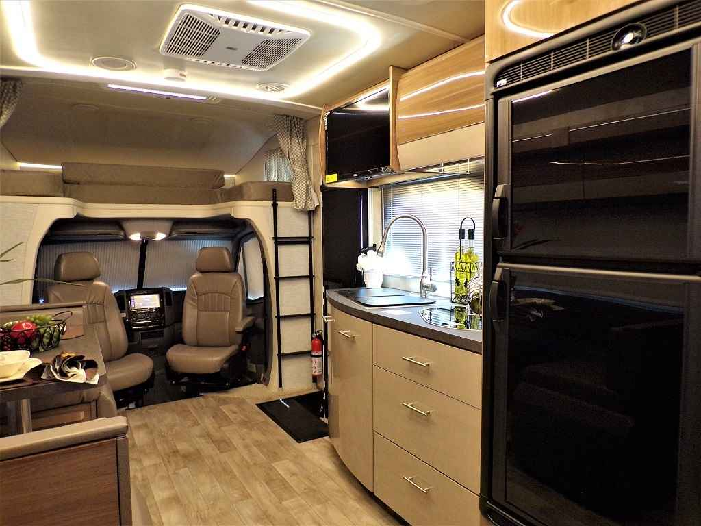 Rv Diesel Generator >> 2019 New Winnebago Navion 24J Slide-Out Mercedes Turbo Diesel Full Paint Class C in California CA